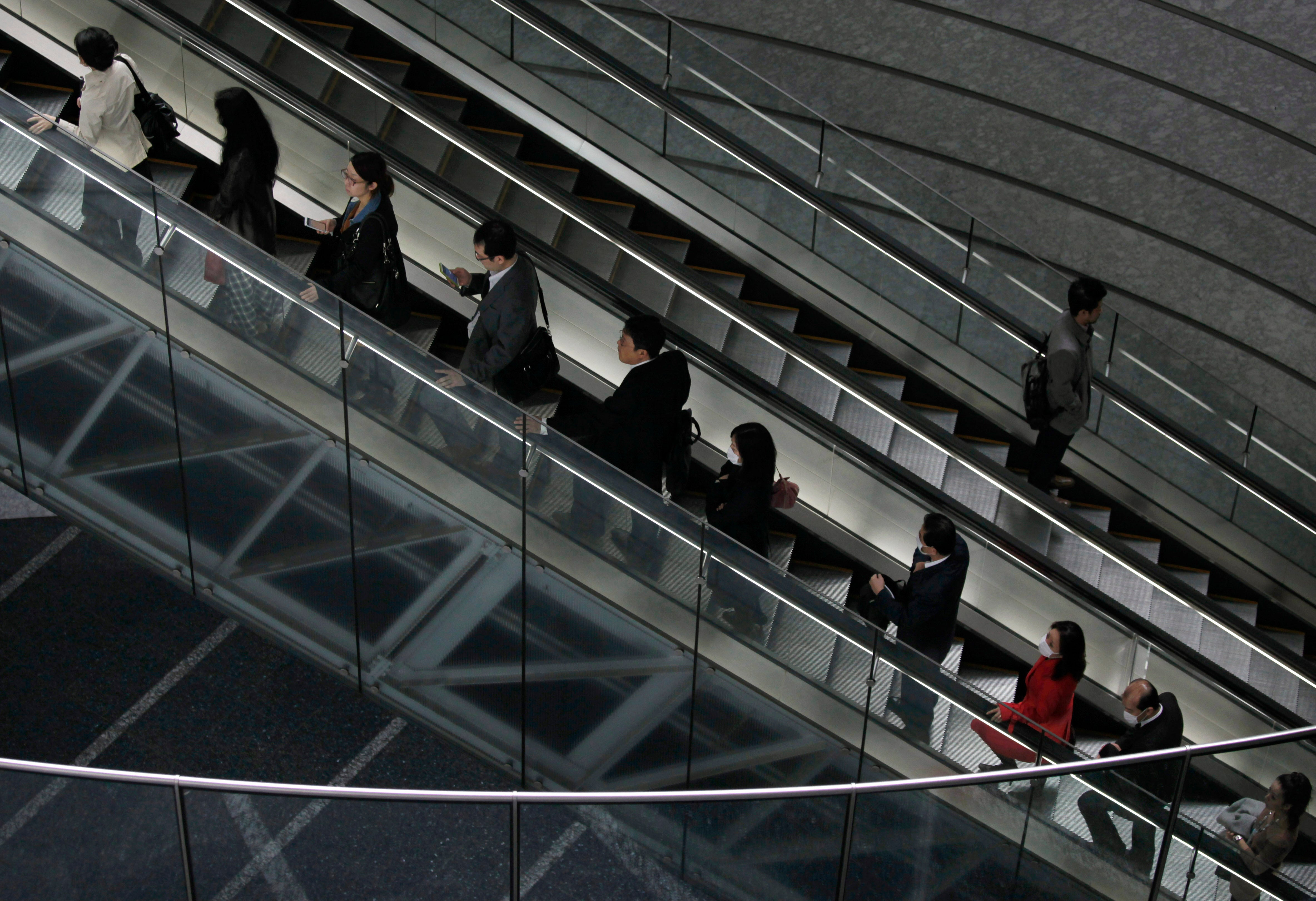 It's Hard For Japan To Change Its Escalator Manners
