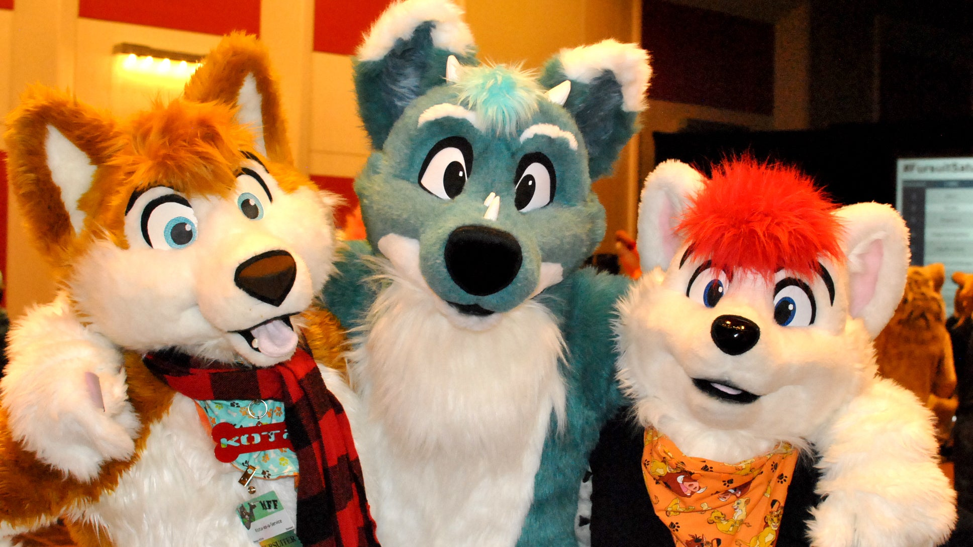 All Hotel Guests Should Behave Like These Furries