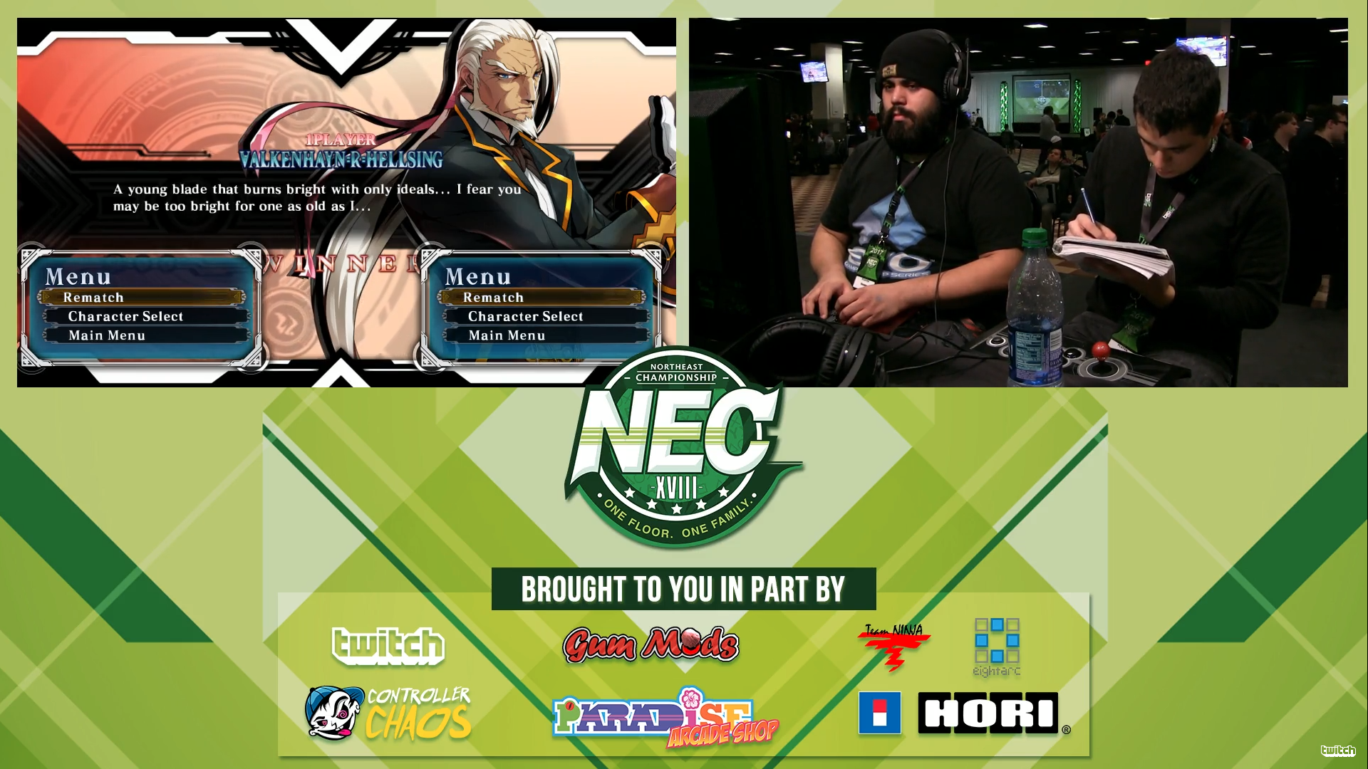 BlazBlue Player Explains Why He Writes In A Notebook During Matches