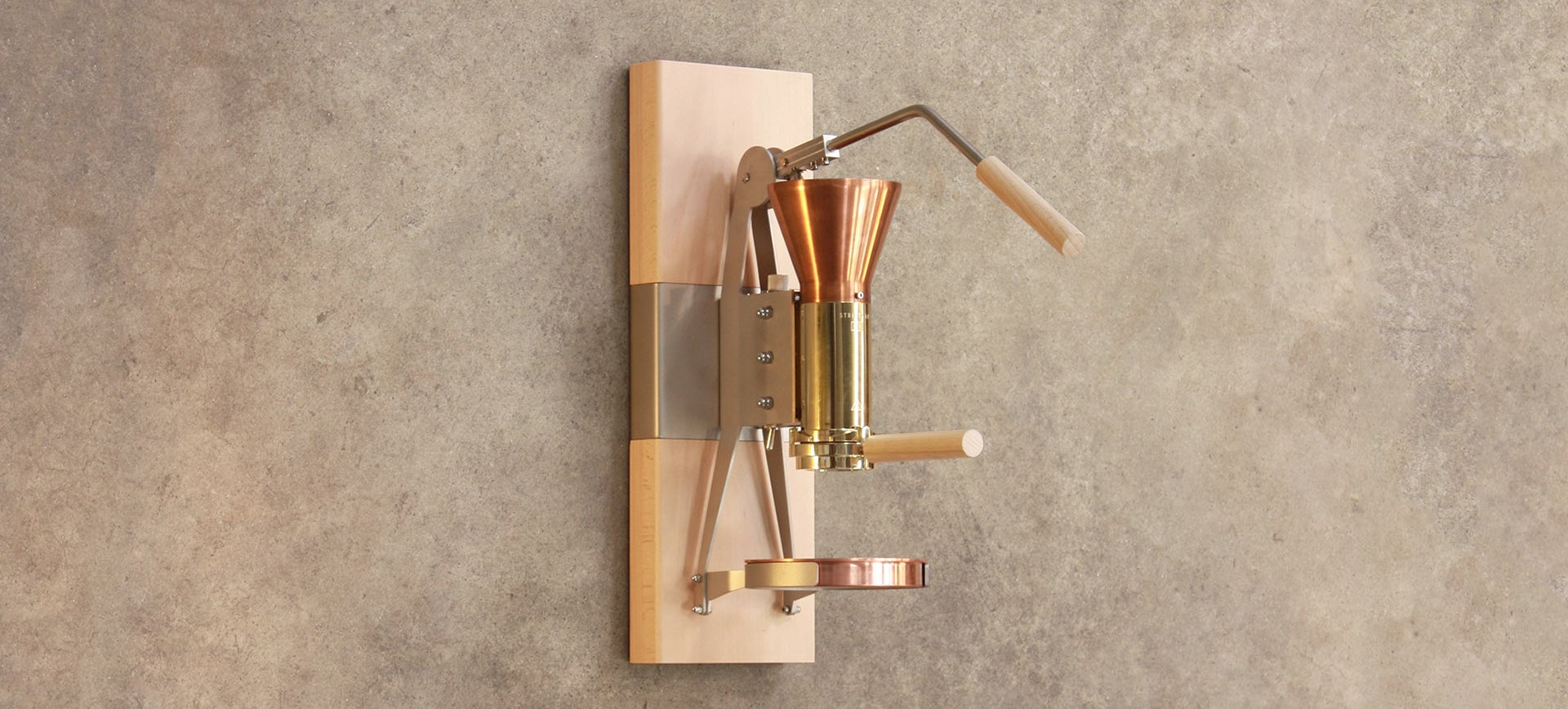 This Wall-Mounted Espresso Machine Is Dripping With Good Looks