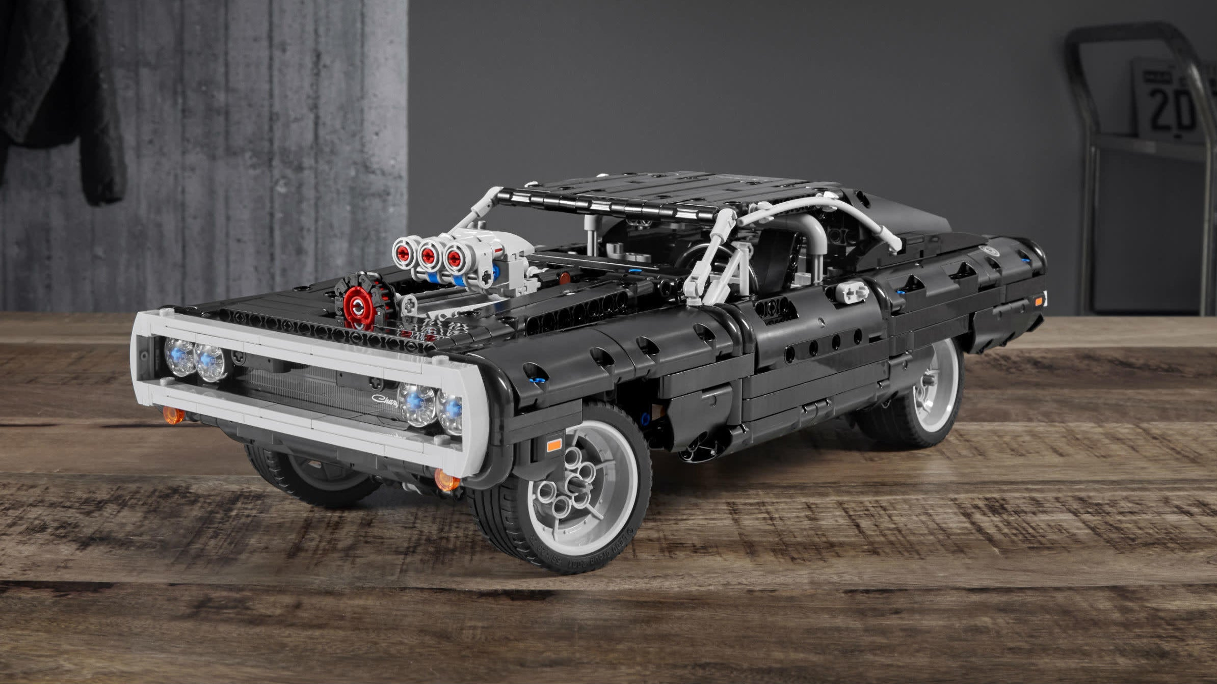 Fast And Furious Joins The Lego Family With Dom's Dodge Charger