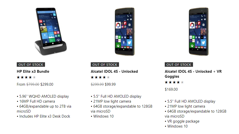Looks Like Microsoft's Windows Phone Supply Is Finally Running Dry