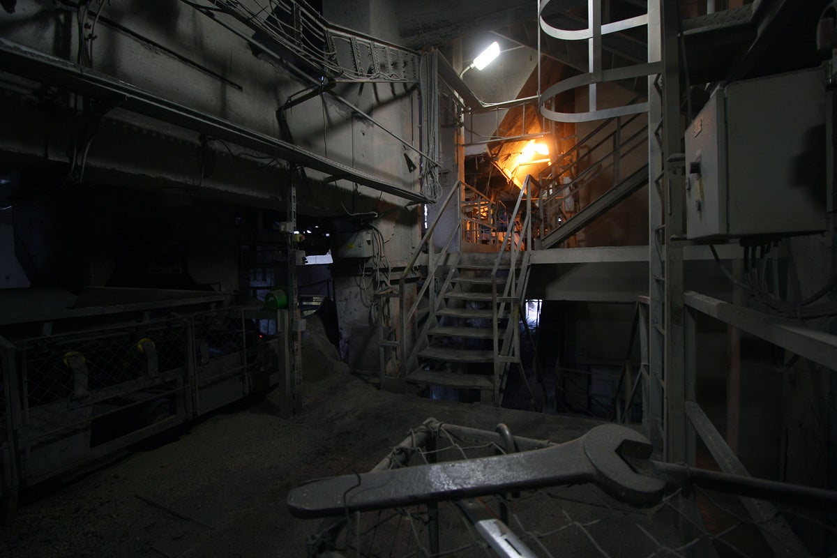 Decay and Demolition Inside a Dying Cement Factory