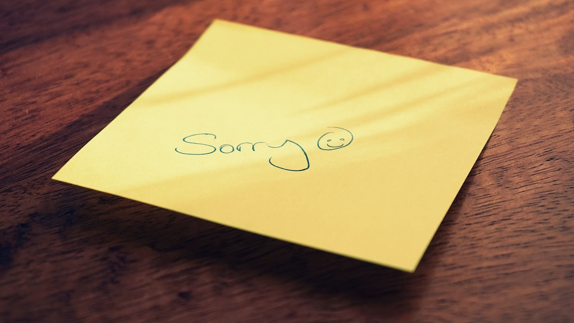 Do This Instead Of Saying 'Sorry' All The Time