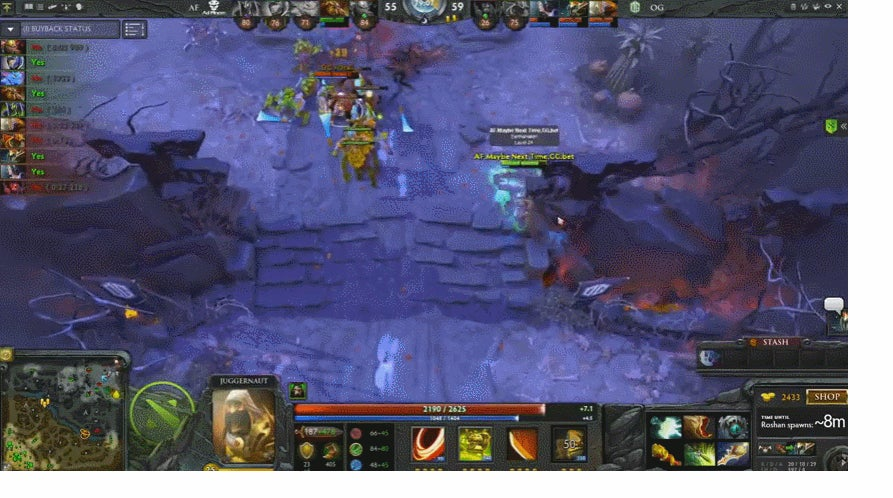 a quick look at why everyone just lost it at this weekend s dota 2