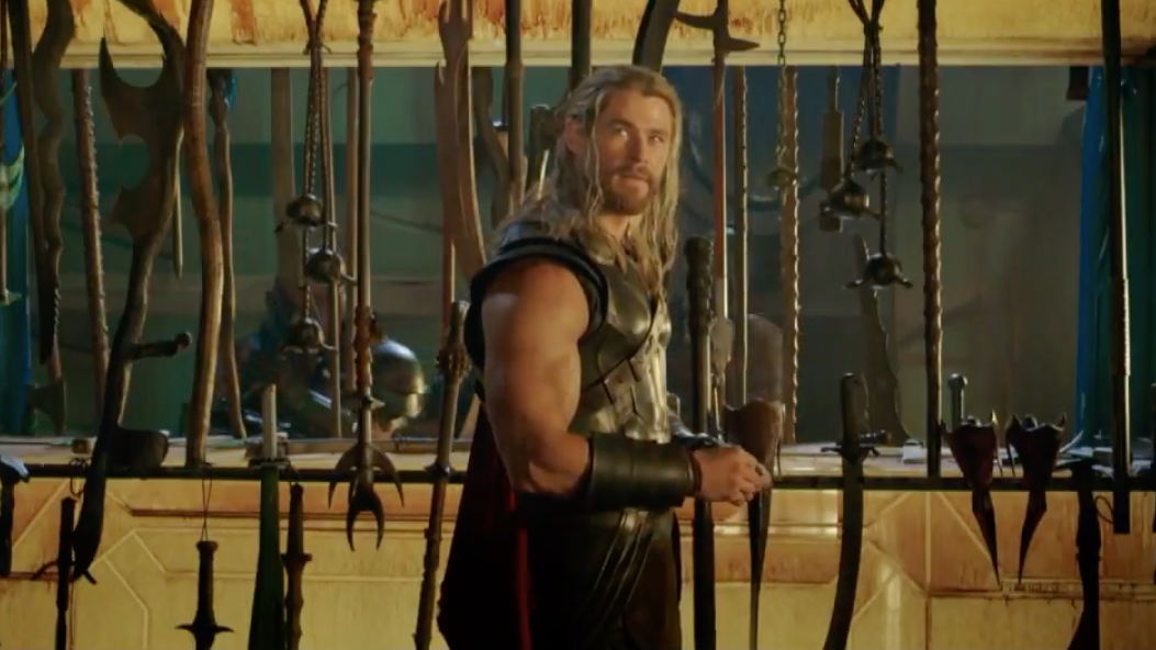 This Thor: Ragnarok Scene Exists Because Taika Waititi and Chris Hemsworth Loved Playing With The Props