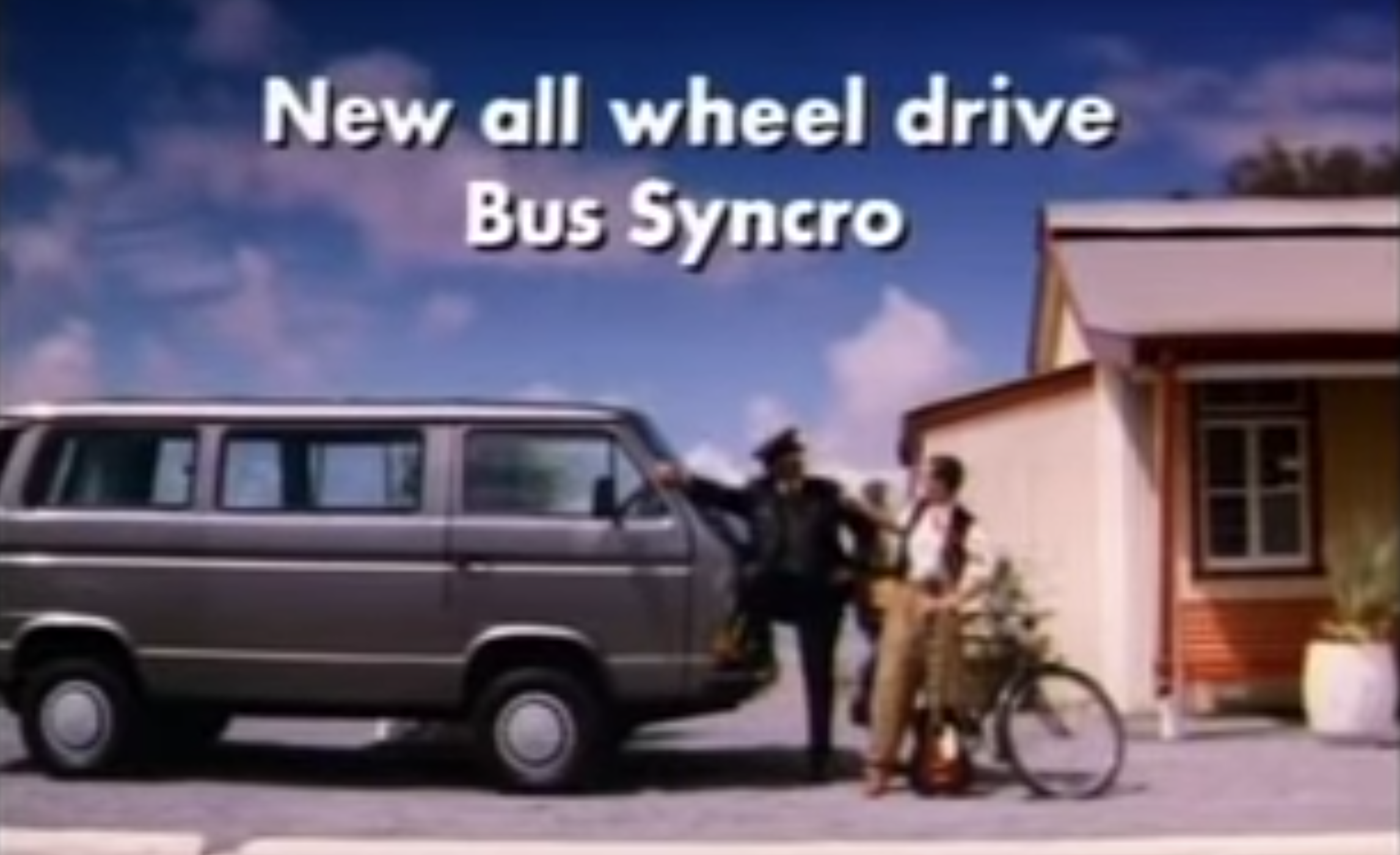 A Volkswagen T3 Syncro Is What You Need To Stop The Bike Thieves In The South African Bush