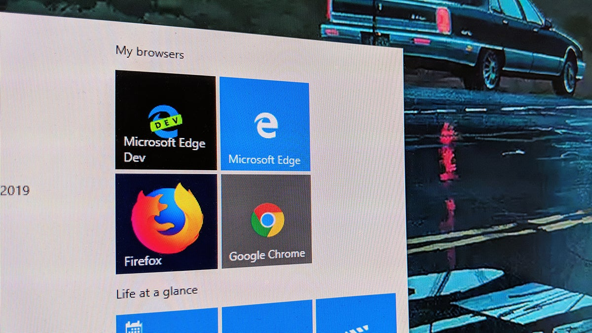 All The New Details About Microsoft's Rebooted Edge Browser