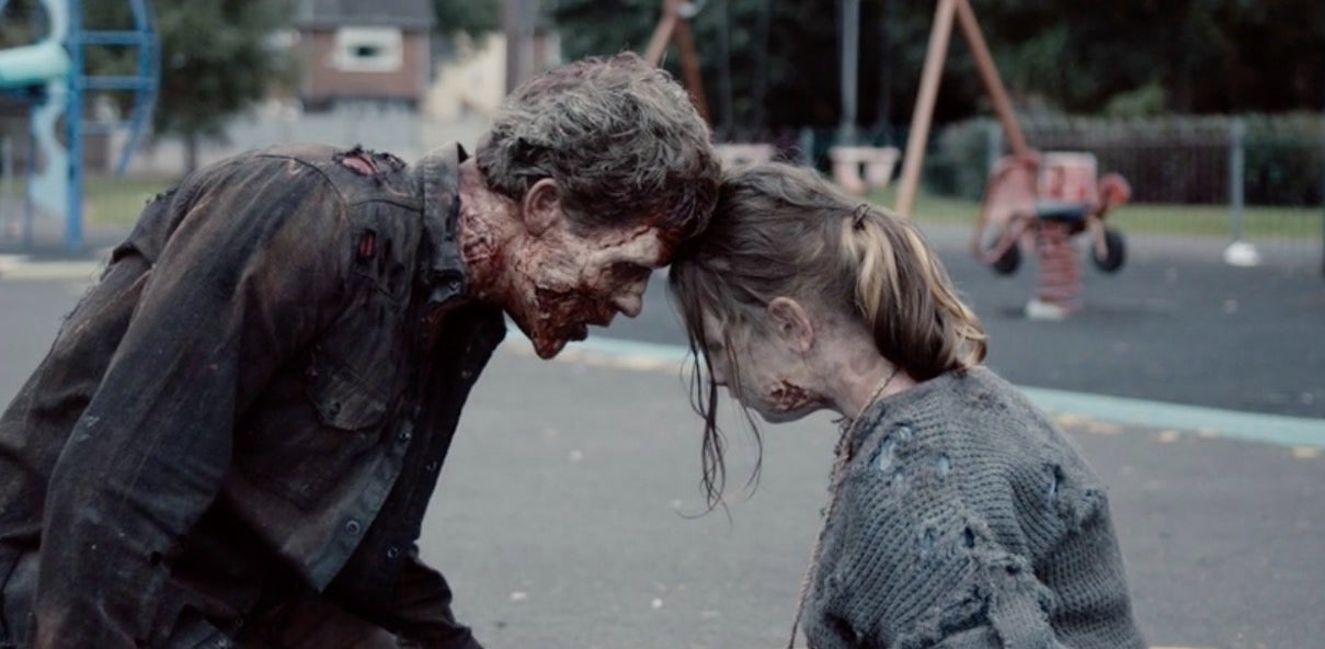 A Father's Day Imagines A Gruesomely Sweet Zombie Family Reunion