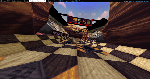 You Can Explore The Original WipEout's Tracks In Your Browser