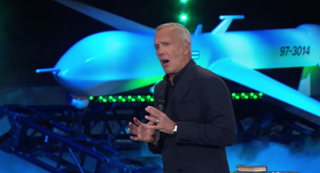 Megachurch Explains How Predator Drones Are Just Like God