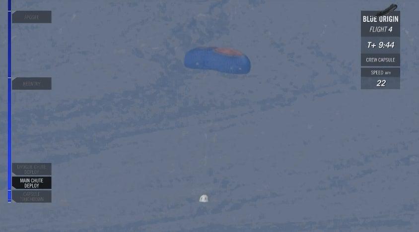 Blue Origin's Crew Capsule Just Survived Its Crash