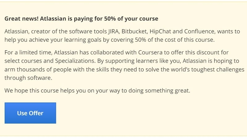 Get 50% Off Any Coursera Computer Science Class For A Limited Time