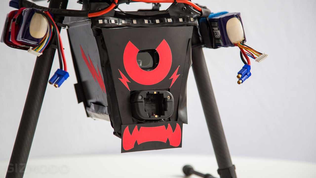 Meet CUPID: The Drone That Will Shoot You With an 80,000 Volt Taser