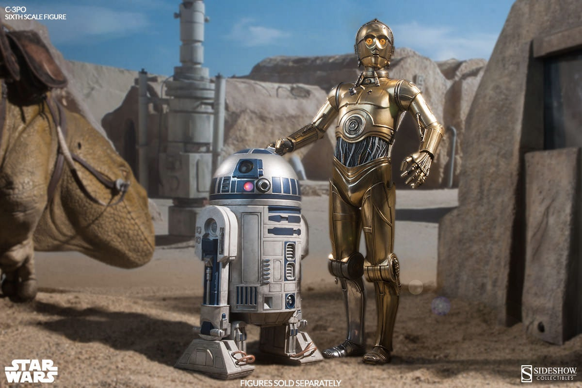 Sideshow's New C-3PO Figure Will Make You Lust For a Protocol Droid
