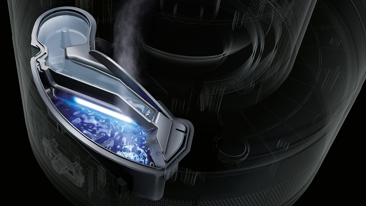 dyson 39 s humidifier uses uv light to kill germs gizmodo. Black Bedroom Furniture Sets. Home Design Ideas