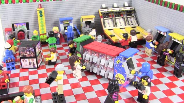 LEGO Arcade Room Has All The 80s Classics