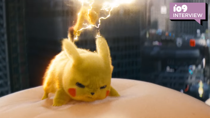 How The Pokémon Games (And Even Avengers: Infinity War) Influenced Detective Pikachu's Wild Climax