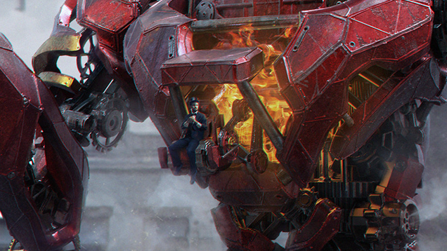 You Don't Simply Jump Into This Giant Iron Man Suit
