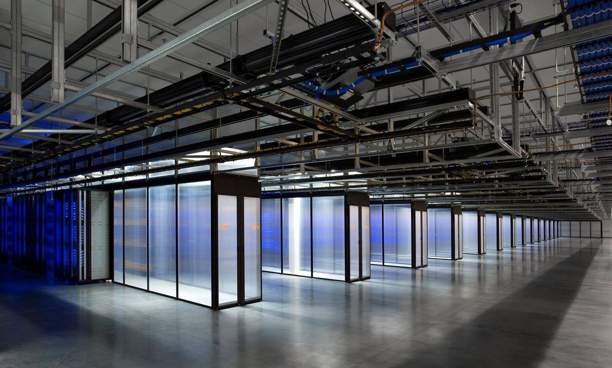 Facebook's Wind-Powered Data Center Is Now Processing Your Posts
