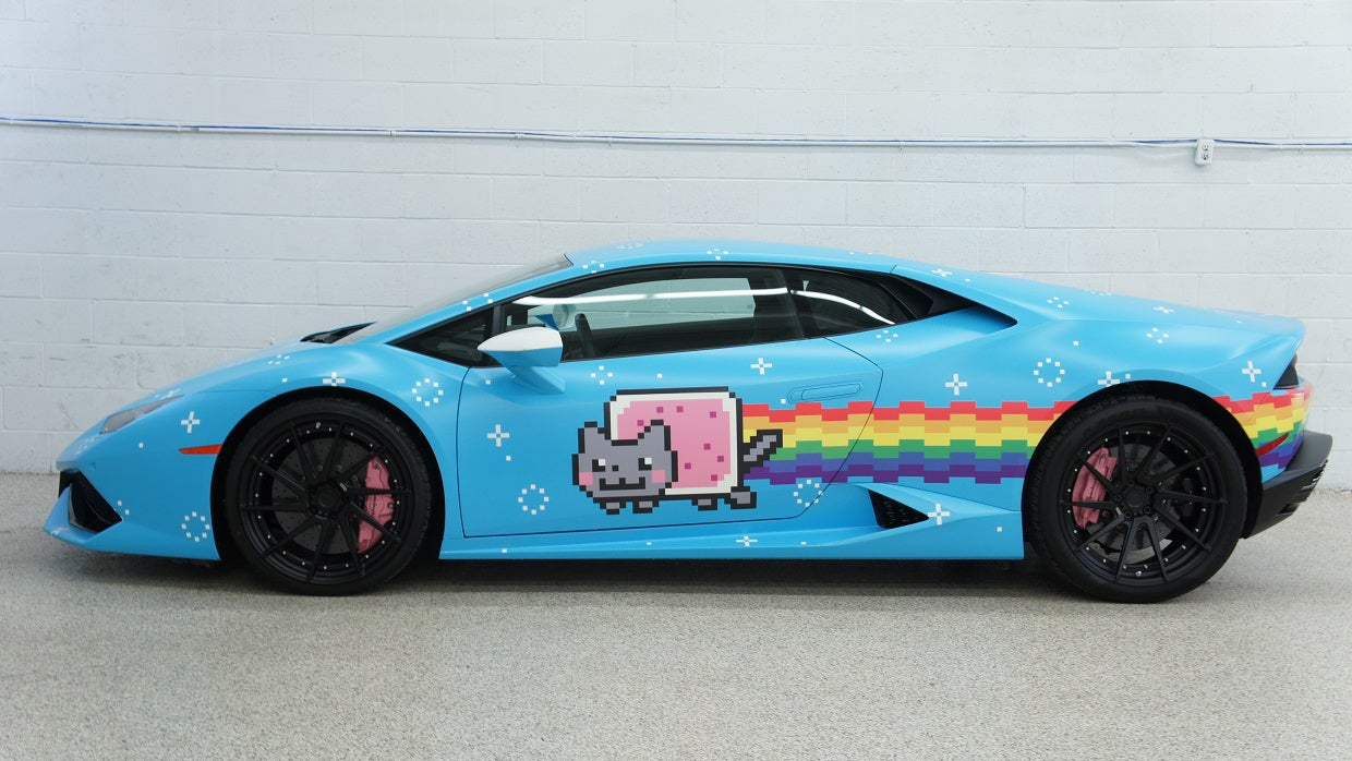 Deadmau5's Nyanborghini Purracan Is For Sale, You Guys