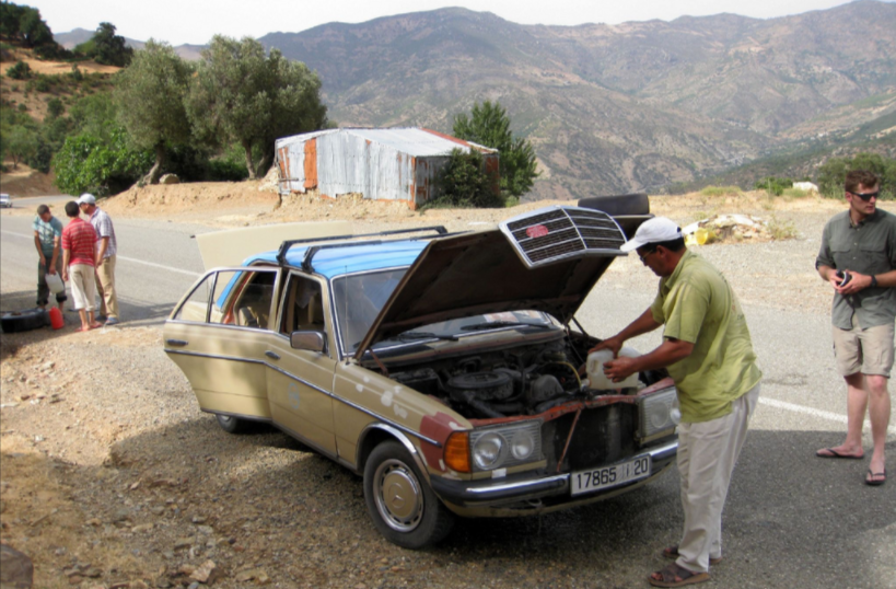 Here's What You Do If Your Car Overheats