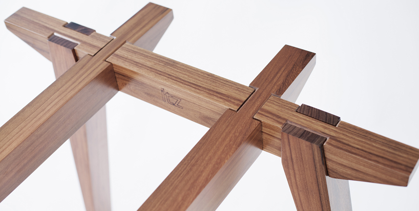This Table Slides Together Without Screws, Dowels, Or Glue