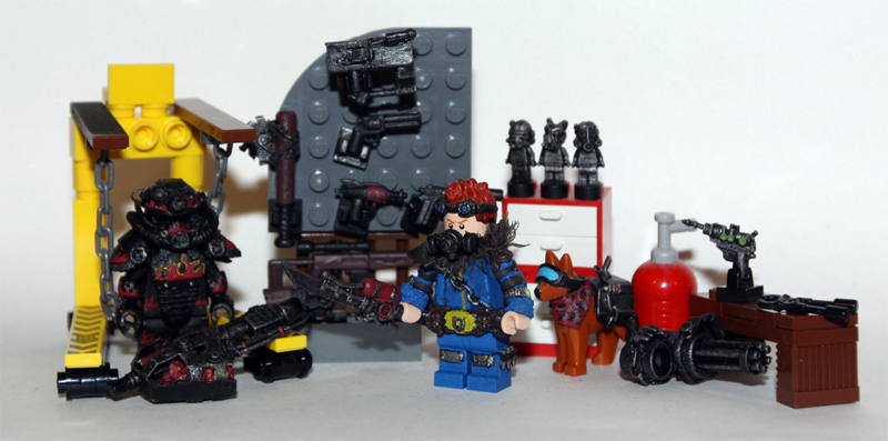 Custom LEGO Fallout Minifigs Are Works Of Art