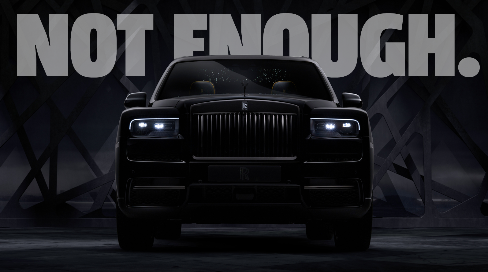 I Find The Rolls-Royce Cullinan Black Badge Completely Unable To Meet My Refined Taste
