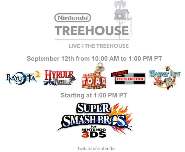 Watch Nintendo Stream The New Super Smash Bros. All Day