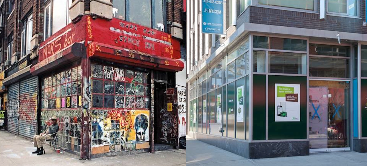 Look At What A Decade's Done To New York City's Classic Storefronts