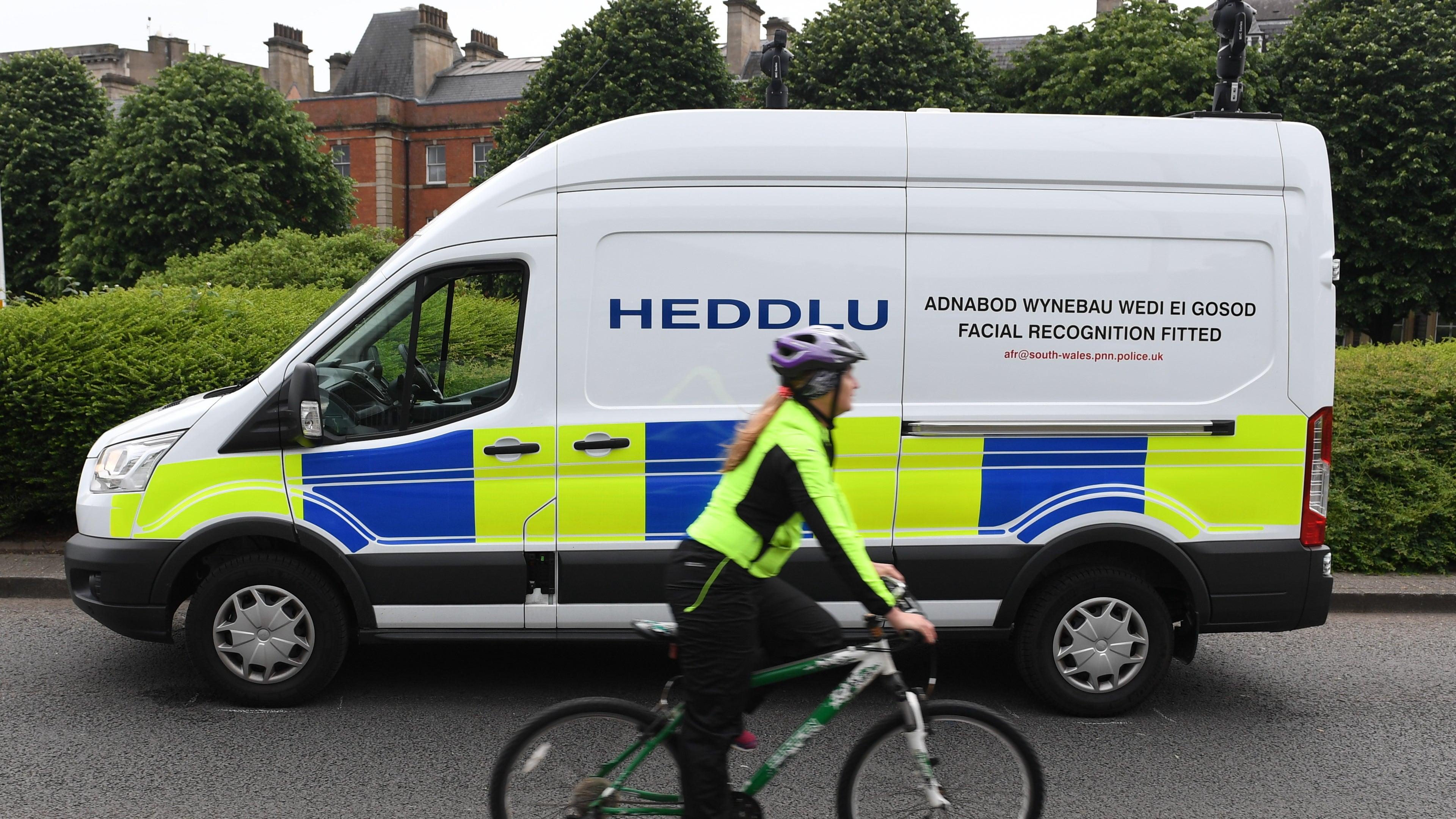 British Cops Make First Arrest Using Facial Recognition Surveillance Vans