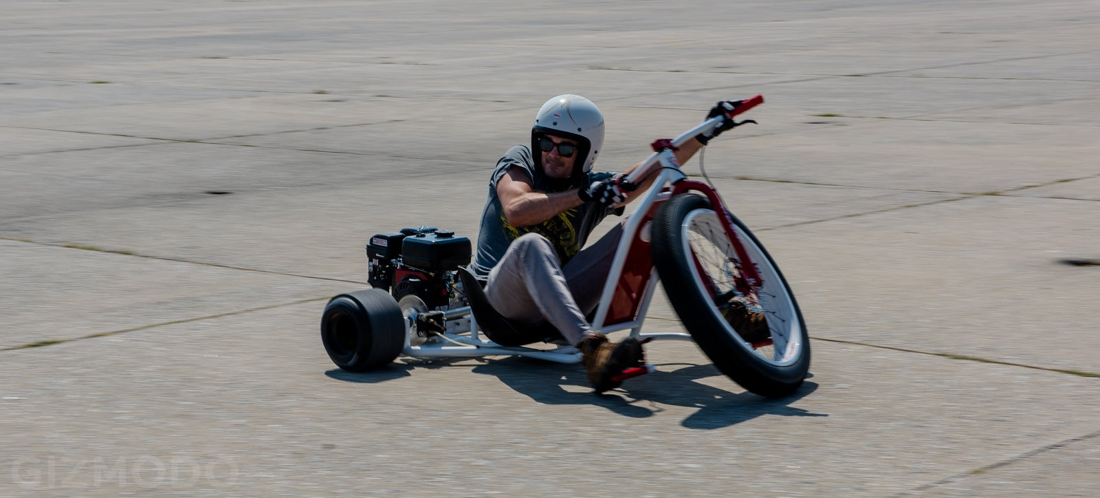 My Day on a Gas-Powered Drift Trike: Like Being a Kid Again, But Better