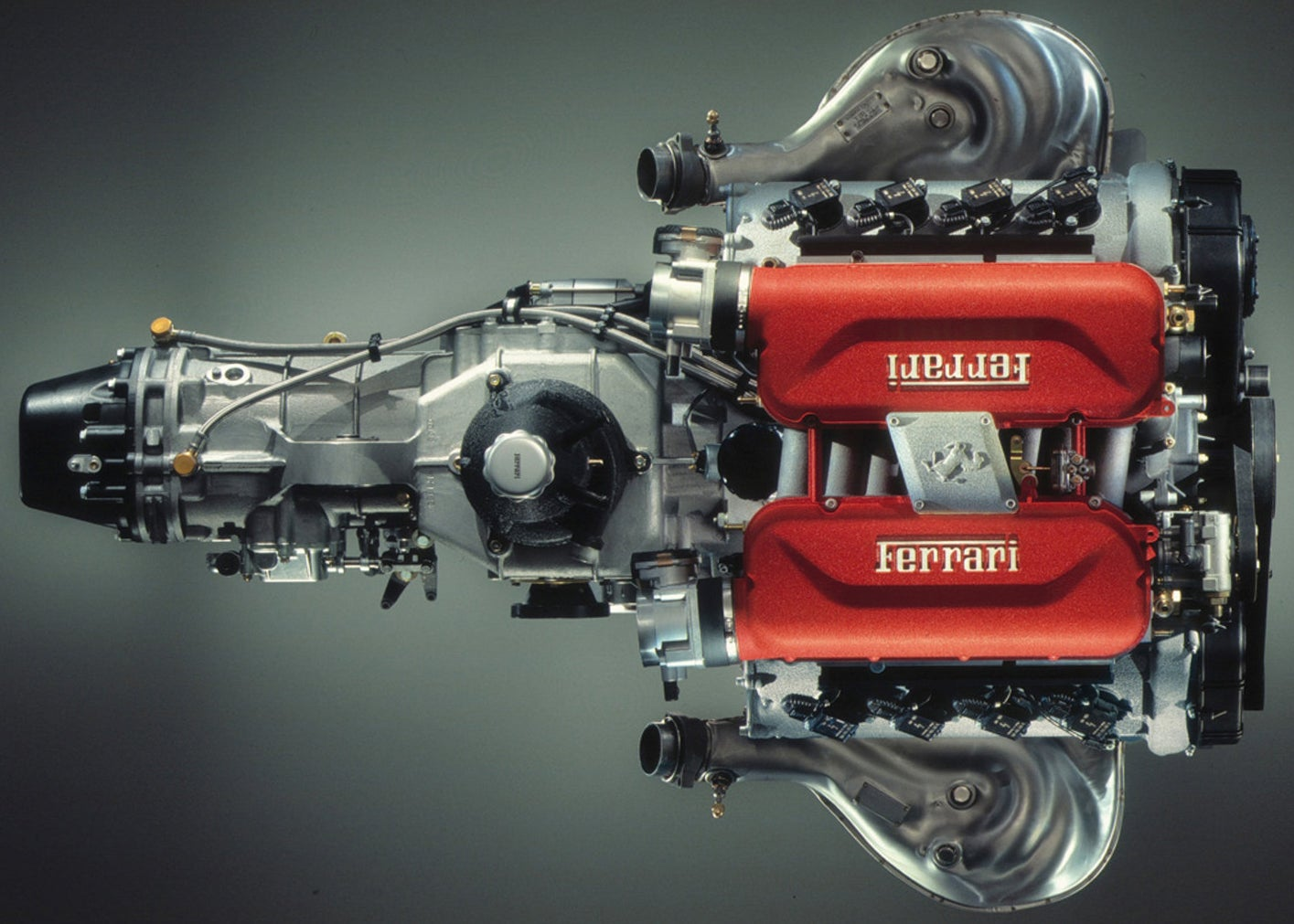 Ferrari's Website Is A Gold Mine Of Incredible Tech Photos