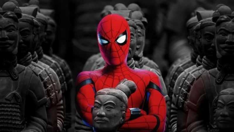 Those Adorable Chinese Spider-Man: Homecoming Posters Are Totally Fake