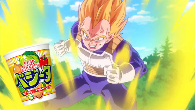 Where Dragon Ball and Instant Noodles Meet