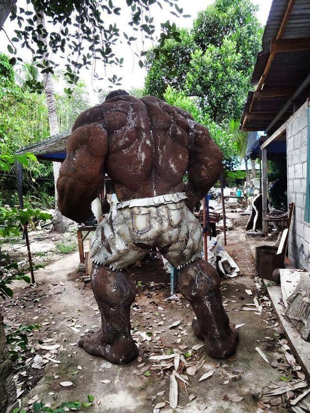 Scrap Metal Hulk is, Well, Incredible