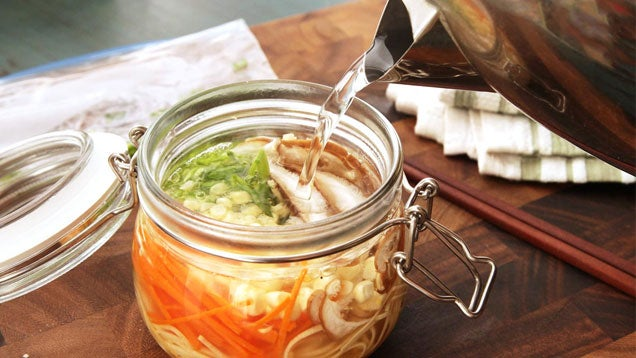 Make Your Own Instant Noodle Cups For Healthier, Tastier Lunches