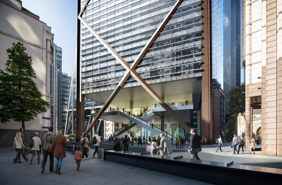 City of London's Tallest Building Will Be a Simple Work of Engineering