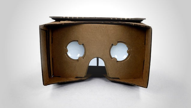 Make Your Own Cardboard Virtual Reality Kit
