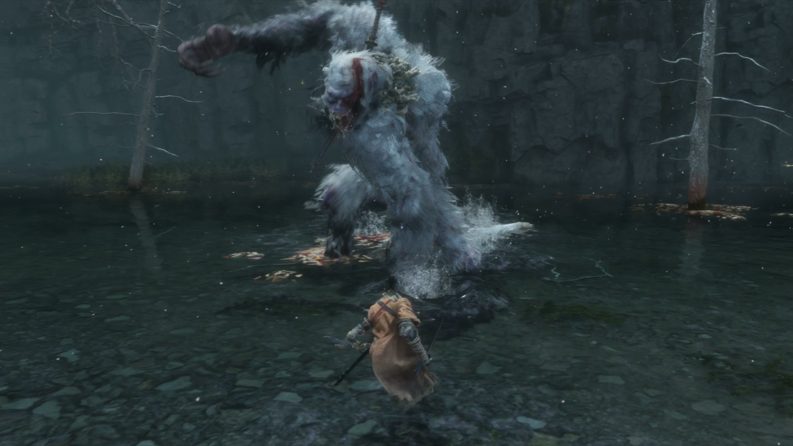 Sekiro's Smartest Boss Fight Is Against A Giant, Poop-Throwing Ape