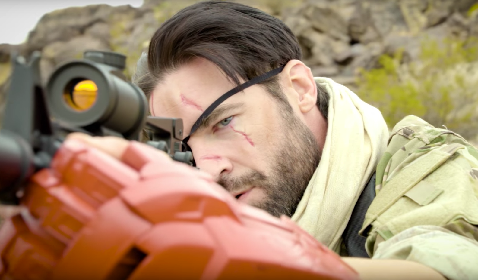 For A Metal Gear Porn Parody, These Special Effects Are OK