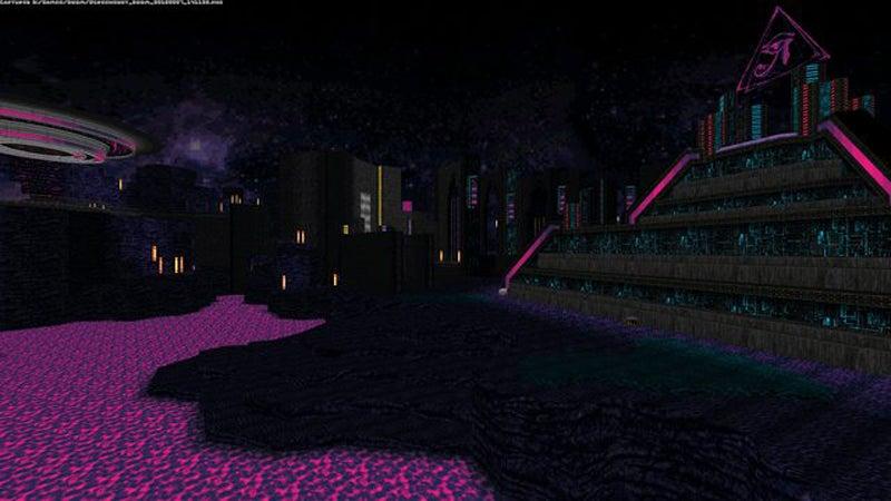 Mod Turns Doom Into An Ancient Alien World