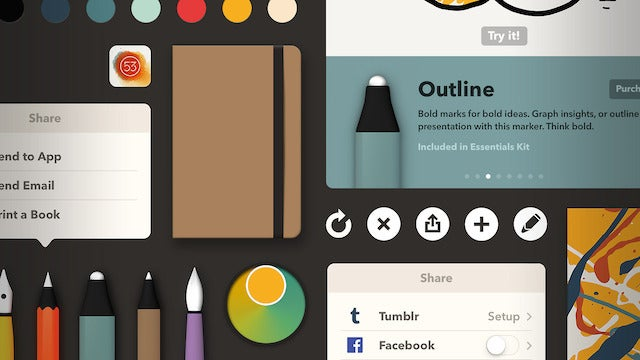 FiftyThree's Paper Improves Zoom And Ink Tools, Gets Rebuilt For iOS 7