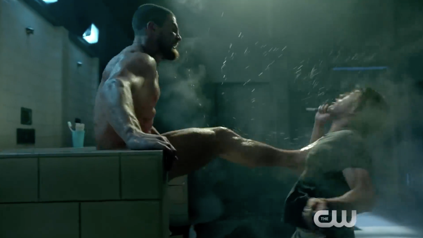 Oliver Queen's Butt Naked And Kicking Arse In The Latest Arrow Season 7 Trailer