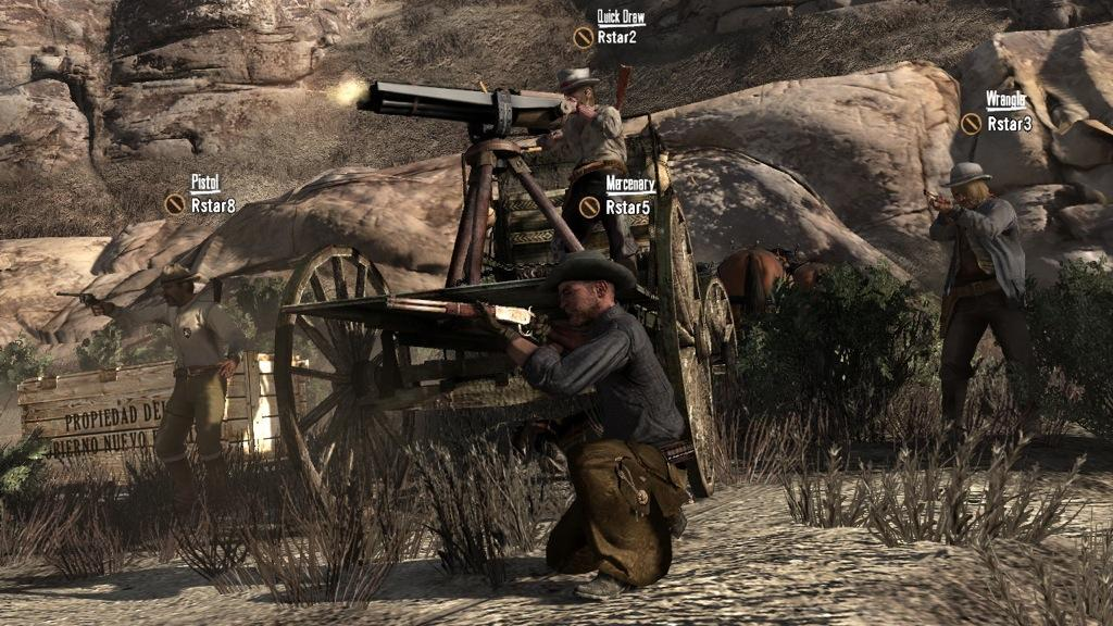 The Good And Bad Of Red Dead Redemption's Multiplayer