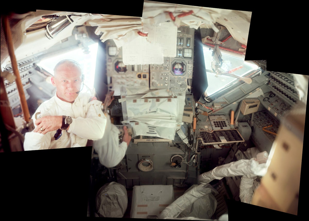 Rare photos reveal fascinating views of the Apollo 11 moon landing