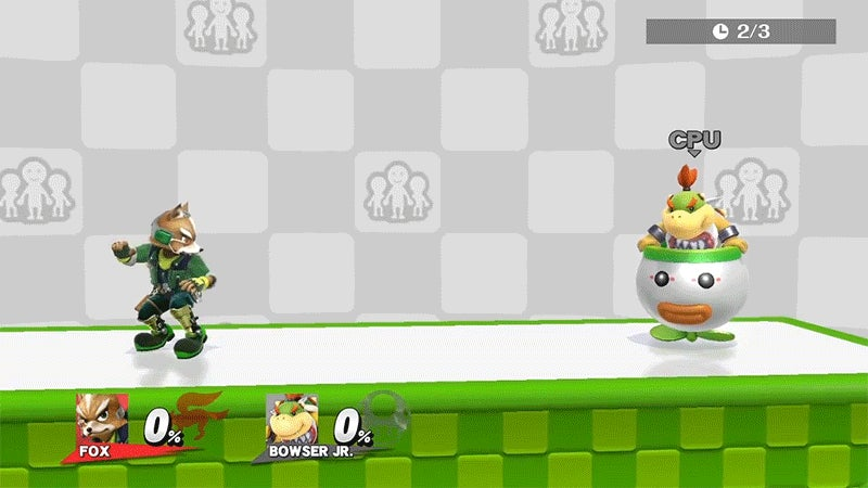 Players Find the Closest Approximation to Wavedashing in Smash Bros. 4