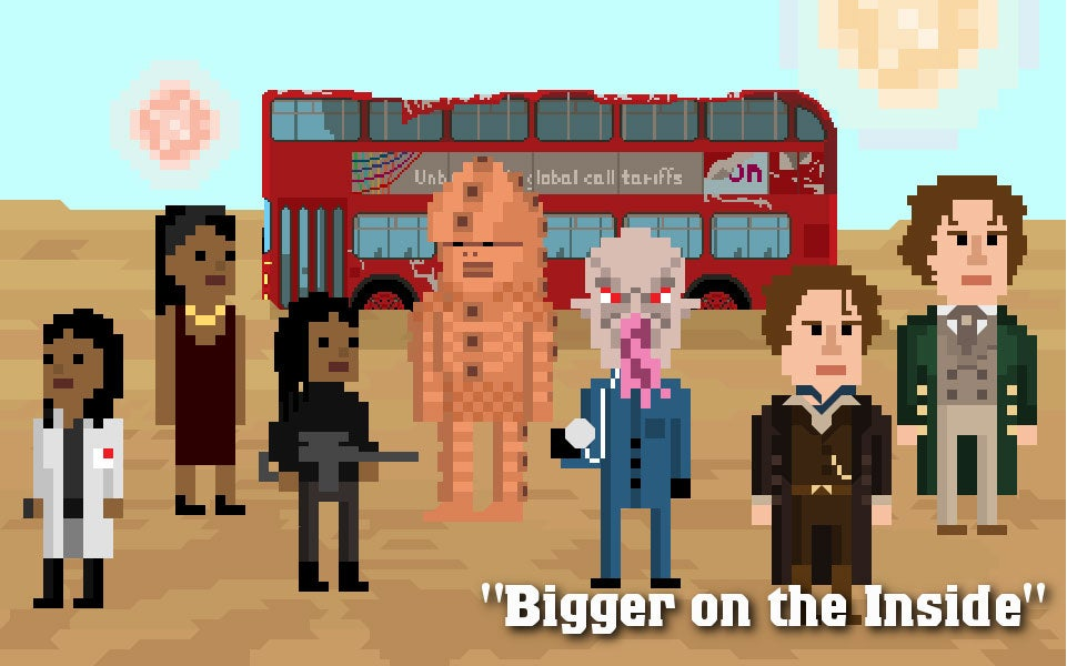 Doctor Who Gets Pixelated For Christmas