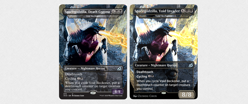 Magic The Gathering Changing Spacegodzilla Card Because Of Coronavirus Covid-19